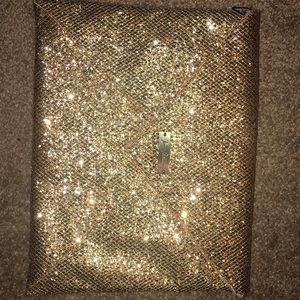 Golden sparkles clutch